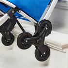 Einkaufs-Trolley blau