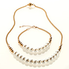 Perlenkette L 50 cm