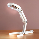 LED-Stand- und Handlupe 2-in-1