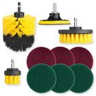 Bürstenaufsatz-Set für Bohrmaschine