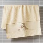 """Handtuch """"Steinbock"""" beige Casa Bonita"""