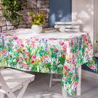 """Tischdecke """"Wiesenblumen"""" 135 x 225 cm"""