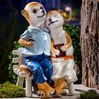 Erdmännchen-Paar