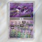 """Ewiger LED-Kalender """"Lavendel"""""""