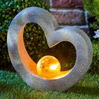 Herz mit Solarkugel