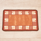 "Teppich ""Karo"" braun Casa Bonita 40 x 60 cm"