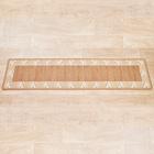 "Teppich ""Karo"" beige Casa Bonita 57 x 240 cm"
