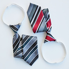 2er-Set gebundene Krawatten