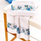 "Handtuch ""Schmetterling"" blau Casa Bonita"