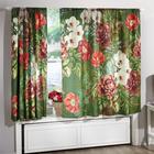 """Vorhang """"Blüten"""" 140 x 140 cm"""