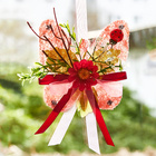Sisal-Schmetterling rose
