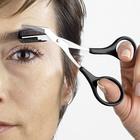 Augenbrauen-Schere, schwarz