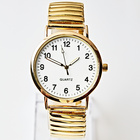 Armbanduhr klein gold