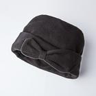 Mütze mit Schleife schwarz
