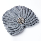 Mütze grau Amélie di Santi