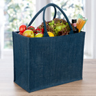 Einkaufstasche blau Basilico