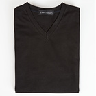 V-Shirt schwarz