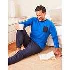 Pyjama hellblau/blau