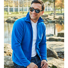 Fleecejacke royalblau